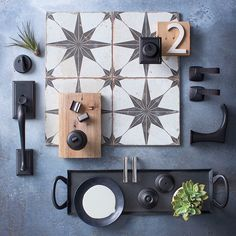 New Decor Trends in Hardware: Bronze with Brushed Nickel