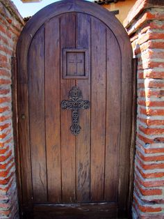 One of doors at Mission