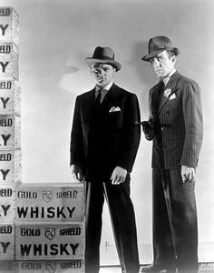 The Roaring Twenties with James Cagney & Humphrey Bogart~