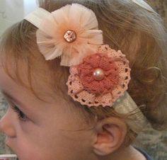 Baby Headband, Baby Bow, Flower Headband, Flower Bow, Infant Headband…
