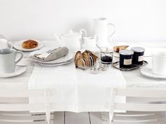 Coffee and breakfast.  #Style #White