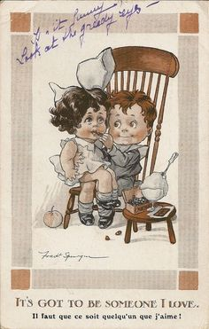 CARTE POSTALE POSTCARD ILLUSTRATEUR FANTAISIE IT'S GOT TO BE SOMEONE I LOVE | Collections, Cartes postales, Thèmes | eBay!
