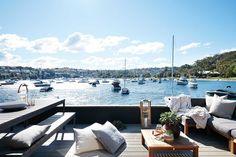 Houseboat on Sydney Harbour | Home Beautiful Magazine Australia
