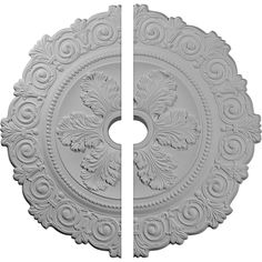 Ekena Millwork Scroll x White Urethane Ceiling Medallion at Lowe's. Our ceiling medallion collections are modeled after original historical patterns and designs. Our artisans then hand carve an original piece. Ceiling Decor, Ceiling Design, House Ceiling, Baseboard Molding, Crown Molding, Modern Baseboards, Classic Ceiling, Modern Ceiling, Art Deco Door