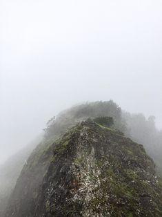 Die Aussicht ist bei gutem Wetter ziemlich der Hammer. Dank unserem Regenwetter waren wir dafür alleine beim Lookout :)