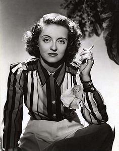 Bette Davis, por George Hurrell, 1940