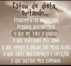 me and my blog: Fora o negativismo ...fora!