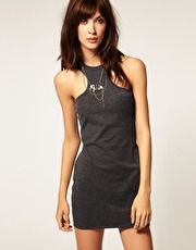 Cheap Monday Cut Away Shoulder Dress I could do this to that dress @Caitlin Irwin