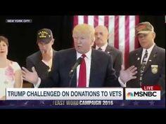 Donald Trump's Vet Donation Lies Exposed - YouTube