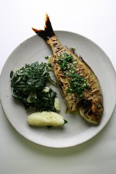 Grilled Fish Dalmatian Style