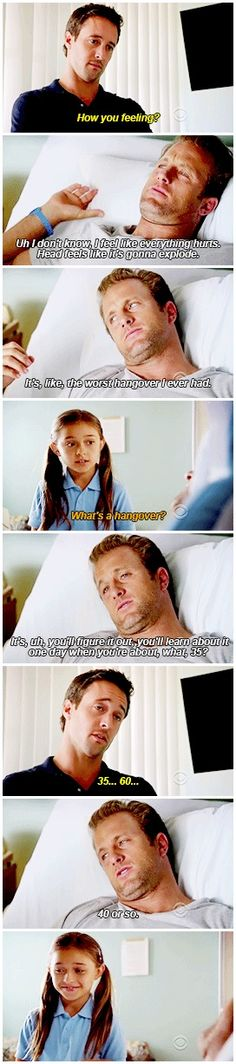 Love how even Steve is like our perfect, innocent Grace will never do these things...