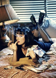 pulp fiction. uma thurman.