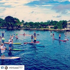 I spy! #Repost @miniusa777 ・・・ SUP FUSION - Wednesday Nights SUP Race Series Fort Lauderdale. #tksmiami #aztekpaddles #jointhelifestyle #suprace #fortlauderdale #workout