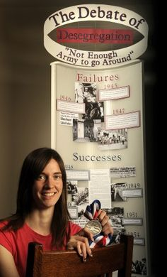 National History Day winner wants to continue designing exhibits : Lincoln, NE Journal Star