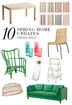 10 Picks From Ikea's New Spring Collection | theglitterguide.com