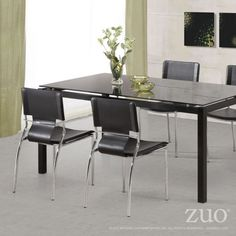 TRAFICO DINING CHAIR BLACK