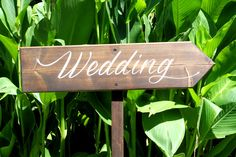 Wedding Arrow Sign (CWD-12)