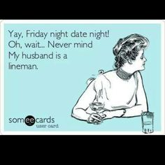 Friday night date night? Whats that? Lol