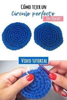 Cómo hacer un círculo perfecto a crochet