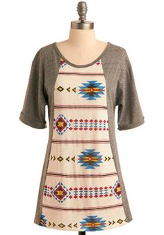 Art-tee-sia Tunic  The print is perfect for the atmosphere of music 1b3e79f3bc3
