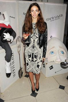 b0eb98c62e8 Rose Hanbury at the Tim Walker  Story Teller private view in London