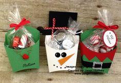 2015 Jan Girl: Stampin' Up Christmas Fry Boxes