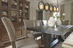 Gray Strumfeld Dining Room Chair (Set of 2) by Ashley HomeStore  ~ Great pin! For Oahu architectural design visit http://ownerbuiltdesign.com
