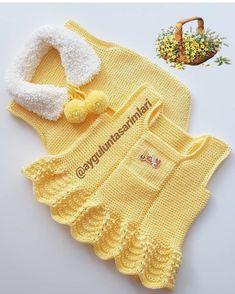 Crochet Mermaid, Baby Girl Crochet, Crochet For Kids, Baby Knitting Patterns, Baby Sweater Knitting Pattern, Baby Vest, Baby Cardigan, Knitted Baby Clothes, Knitted Hats