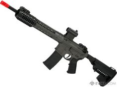 Black Rain Ordnance BRO M4 SPEC15 Airsoft AEG by King Arms (Color: Recon / Gray) | Evike.com