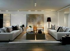 Modern Home Interior Design Arranged With Luxury Decor Ideas Looks Custom Design Interior Living Room Decorating Inspiration