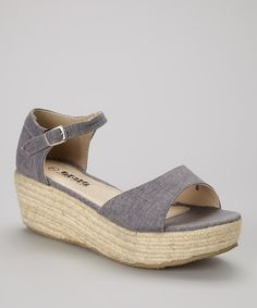 gray sandals