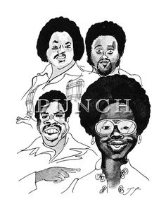 Gladys Knight and the Pips by PUNCH