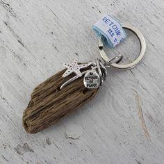 Porte-clés Bois Flotté - Retour de plage