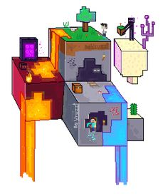 ❄♢Vruzzt Artzz♢❄ - My Minecraft World Capas Minecraft, Minecraft Posters, Minecraft Banner Designs, Minecraft Comics, Minecraft Pictures, Minecraft Drawings, Minecraft Mobs, Minecraft Funny, Minecraft Fan Art