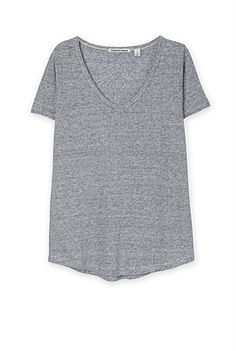 Linen Stripe T-Shirt