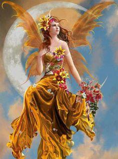 A very lovely fairy.