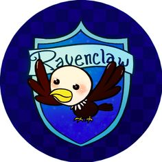 Harry potter button - Ravenclaw House from isthatwhatyoumint for davina