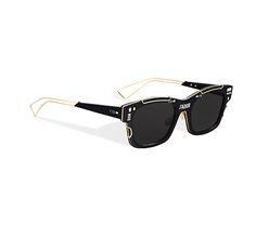 """""""j'adior"""" sunglasses, white and silver-tone - Dior"""