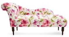 One Kings Lane - Room in Bloom - Reilly Chaise, Raspberry--wish I had a place for this!
