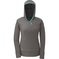 Great lightweight, super-fast drying long-sleeve shirt for being outdoors all day long. #sunprotection 15 Outdoor Research Echo Hoody (Women's) @outdoorresearch
