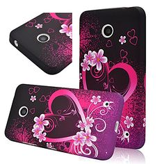 Seedan Love Heart Flowers Painting Gel Case for Nokia Lumia 630 / 635 Rubberized TPU Soft Flexible Back Cover Protector Seedan http://www.amazon.com/dp/B00NUYHOVQ/ref=cm_sw_r_pi_dp_.eEoub0RCMH37