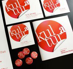 Erscheinungsbild für kulturª im Auftrag der Kultur Service Gesellschaft Graz Design, Graz, Culture, Kunst, Pictures