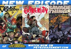 Tony Wolf drops by the Basement this week! He's got a new Greenpoint of View on the way in the next couple weeks as well as a couple other projects he'll tell us about. The Inhumans are cast the new Guardians of the Galaxy trailer has hit the airwaves and Logan premieres in theaters. Meanwhile on the comics front there were a few misses this week and the boys'll be happy to tell you which you shouldn't swing your wallet at! But there were plenty of hits too like rat Queens vol.2 Extremity…