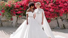 Go inside Samira Wiley and Lauren Morelli's colorful Palm Springs wedding, photographed by Jose Villa exclusively for Martha Stewart Weddings.