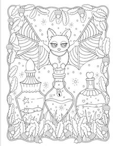 agere guide - 💜themed coloring pictures💜 - Wattpad Witch Coloring Pages, Coloring Pages For Grown Ups, Adult Coloring Book Pages, Printable Adult Coloring Pages, Cute Coloring Pages, Animal Coloring Pages, Coloring Pages For Kids, Coloring Books, Dover Coloring Pages