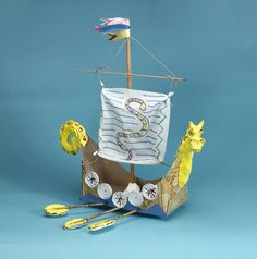 Sail With the Vikings! craft