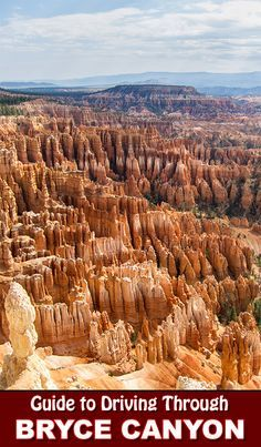 See the beauty of Bryce Canyon National Park from your car, or on your feet!