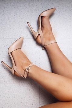 #fall #shoes Nude Pumps