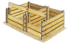 Construire un silo à compost
