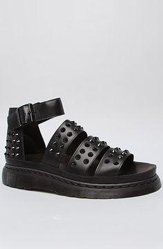 Dr. Martens Boots Liza Studded Sandals in Black